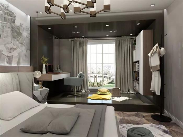 84平单身公寓装修效果图