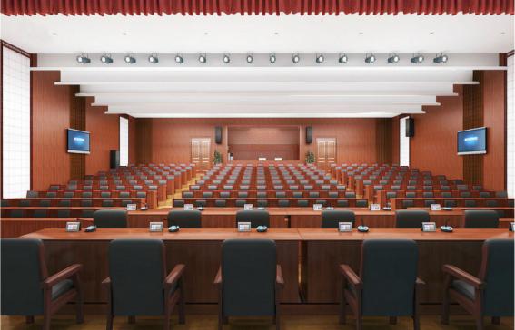 工装案例之会议厅设计