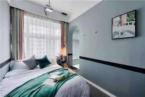 卧室形状:方正,不适宜斜边或是多角形状