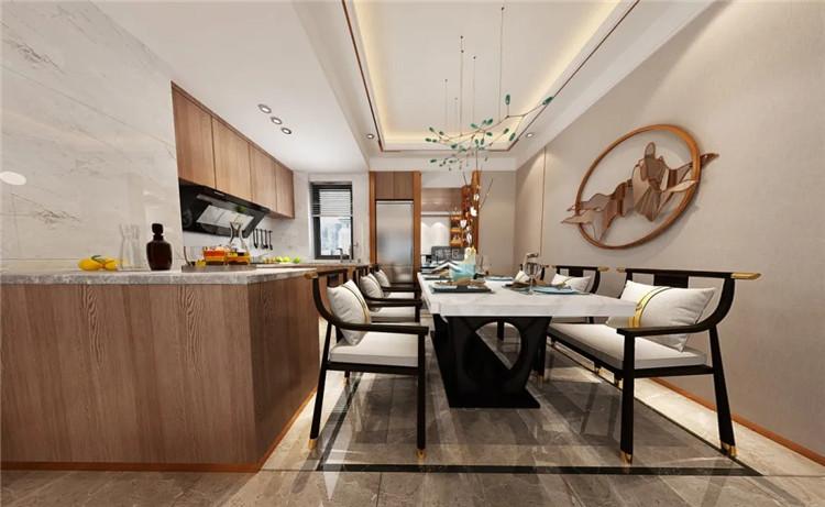 开放式的厨房空间