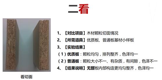 实木颗粒板选材