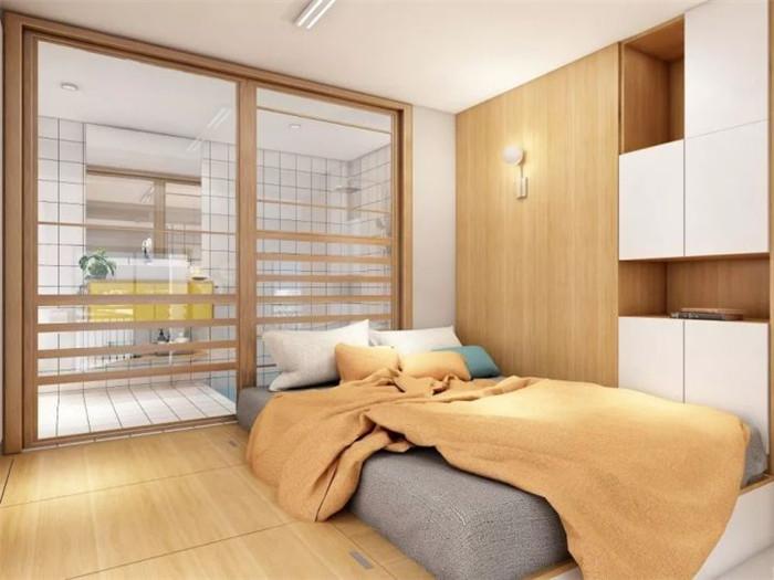 珠江花城-单身公寓装修效果图